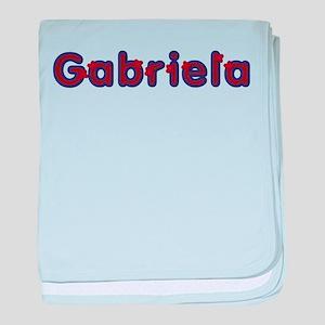 Gabriela Red Caps baby blanket
