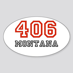 406 Oval Sticker