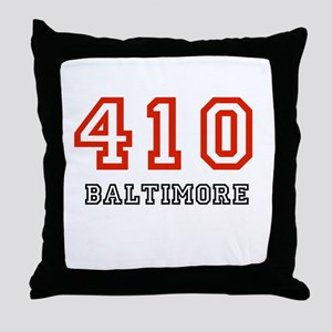 410 Throw Pillow