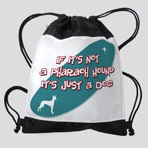 d181 Pharaoh Hound Drawstring Bag