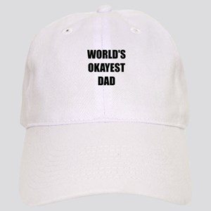 Worlds Okayest Dad Baseball Cap