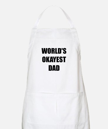 Worlds Okayest Dad Apron