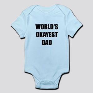 Worlds Okayest Dad Body Suit