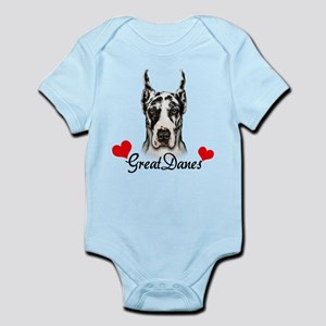 Great Dane - Harlequin Infant Bodysuit