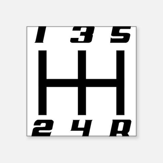5-speed logo Sticker