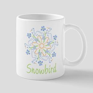 Snowflake snowbird Mug