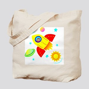 Little Adventurer in Space! Tote Bag