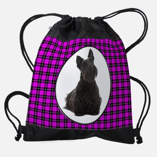 Scottie Drawstring Bag