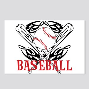 Baseball Tribal Postcards (Package of 8)