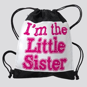 im_little_sister_alabama Drawstring Bag
