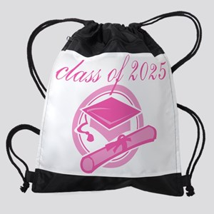 class-of-2025-for-blk-mater Drawstring Bag