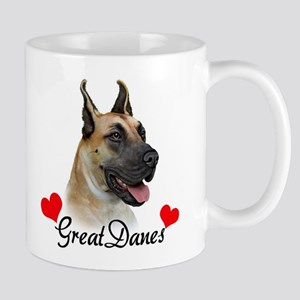 Great Dane - Fawn Mug
