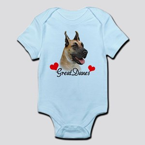 Great Dane - Fawn Infant Bodysuit