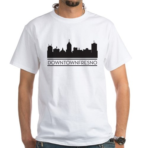 Downtown Fresno Skyline T-Shirt