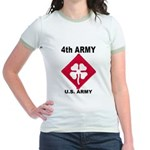 4TH ARMY Jr. Ringer T-Shirt