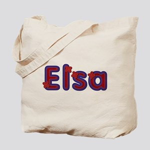 Elsa Red Caps Tote Bag