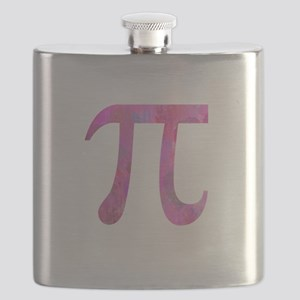 PI IRRATIONAL NUMBER ABSTRACT DESIGN Flask