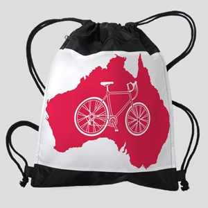 australia.bicycle Drawstring Bag