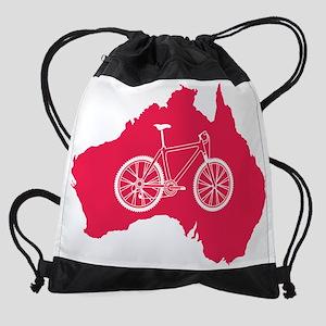 australia.mountainbike Drawstring Bag