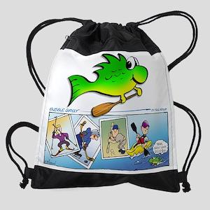 look silly shirt Drawstring Bag