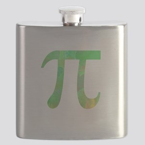 PI IRRATIONAL NUMBER ABSTRACT GREEN DESIGN Flask