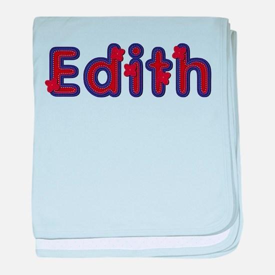 Edith Red Caps baby blanket