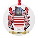 Barry Round Ornament