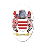 Barry 35x21 Oval Wall Decal