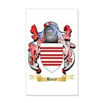 Barry 20x12 Wall Decal
