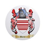 Barry Ornament (Round)