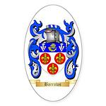 Barrows Sticker (Oval)