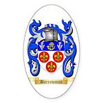 Barrowman Sticker (Oval 10 pk)