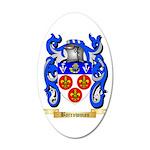 Barrowman 20x12 Oval Wall Decal