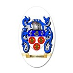 Barrowman 35x21 Oval Wall Decal