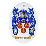 Barrowman Ornament (Oval)