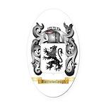 Barrowclough Oval Car Magnet