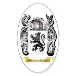 Barrowclough Sticker (Oval)