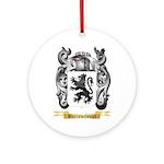 Barrowclough Ornament (Round)