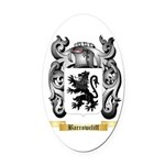 Barrowcliff Oval Car Magnet