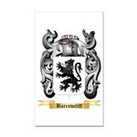 Barrowcliff Rectangle Car Magnet