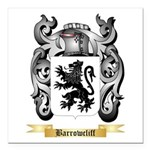 Barrowcliff Square Car Magnet 3