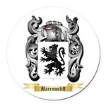 Barrowcliff Round Car Magnet