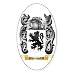 Barrowcliff Sticker (Oval 50 pk)