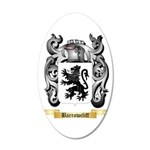 Barrowcliff 20x12 Oval Wall Decal