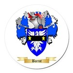 Barrot Round Car Magnet