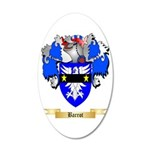 Barrot 20x12 Oval Wall Decal