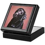 Black Labrador Retriever Portrait Keepsake Box