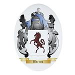 Barros Ornament (Oval)