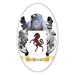 Barris Sticker (Oval 10 pk)