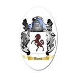 Barris 35x21 Oval Wall Decal